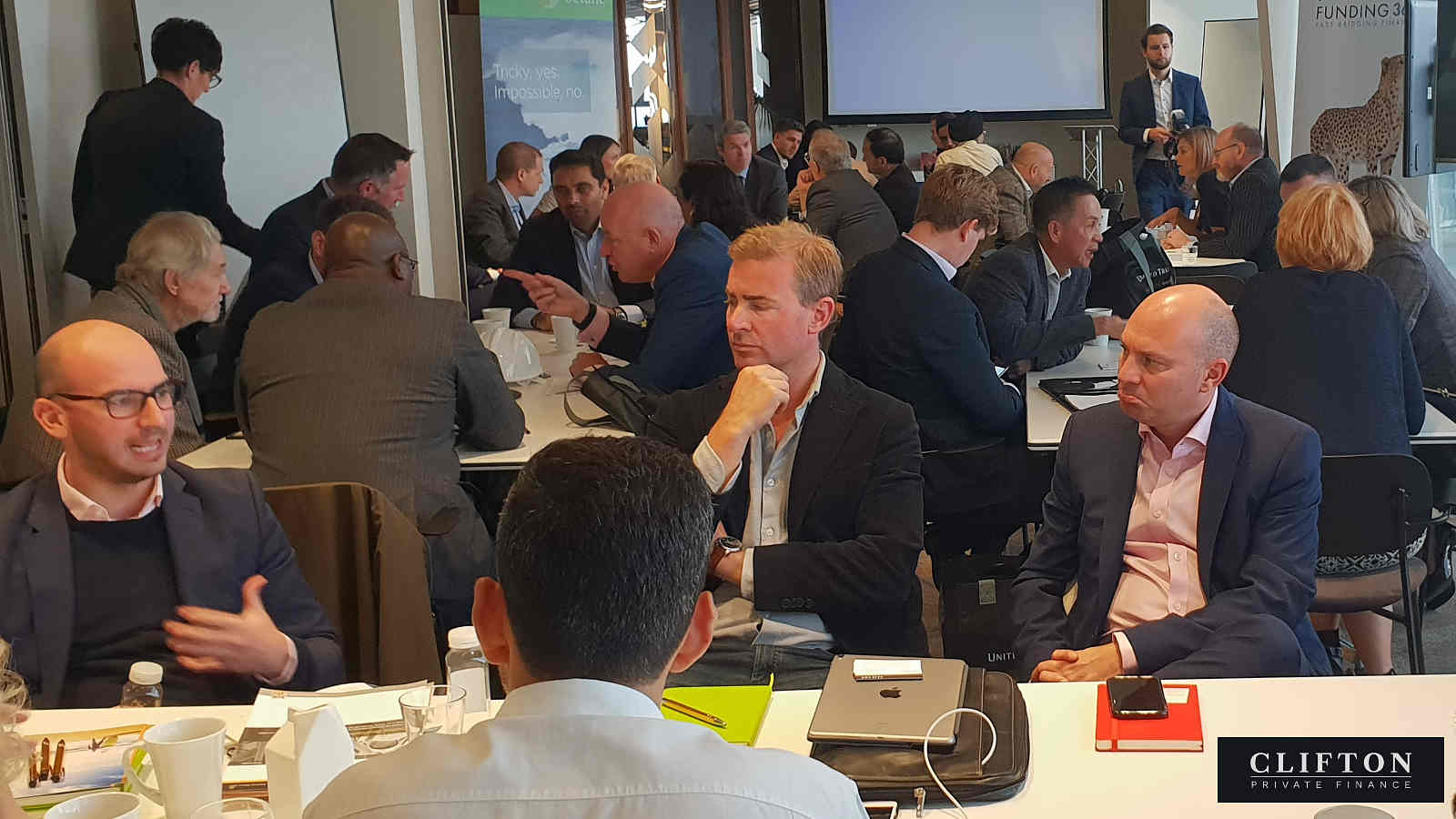 Meeting the property finance experts: clients and lenders get round the table