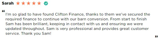 Review of bridging loan mortgage advisor Sam O'Neill Clifton Private Finance