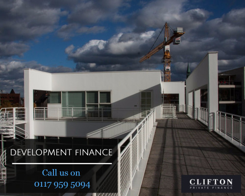 Development finance for new build 6 bedroom house for Loan to buy land and build house