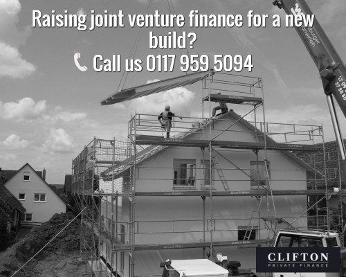 Looking for joint venture property development finance